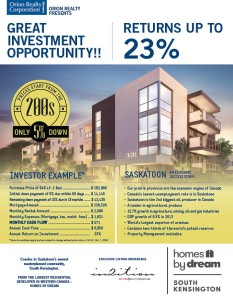 High return investment condo project