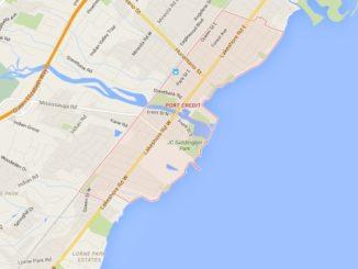 Port Credit Mississauga Neighbourhood Review Map
