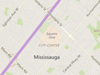 Mississauga City Centre Neighbourhood Review Map
