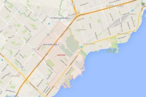 Lakeview Mississauga Neighbourhood Review Map