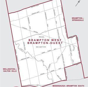 Brampton West Neighbourhood Review - Map