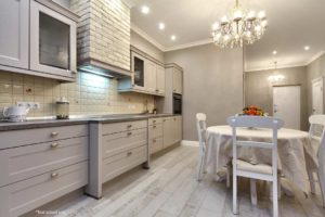 White Kitchen in a Condo